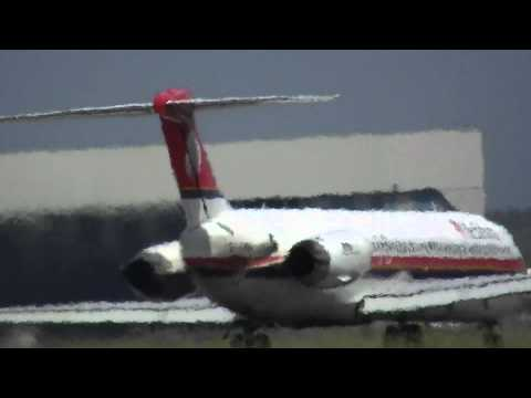 Meridiana MD-82 Start in Olbia [HD-1080p]