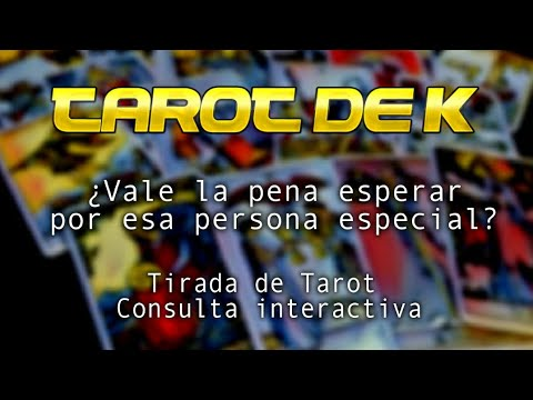 ¿Vale la pena esperar por esa persona especial? Tarot interactivo from YouTube · Duration:  8 minutes 5 seconds