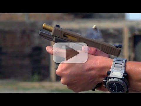 How To Properly Grip A Semi-Auto Pistol | Handgun 101 with Top Shot Chris Cheng