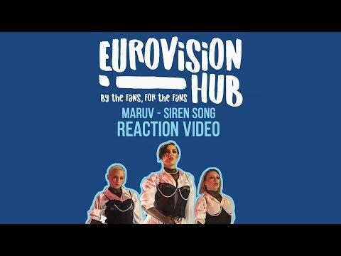 MARUV - Siren Song   Reaction Video