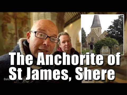 Exploring St James Church In Shere, Surrey