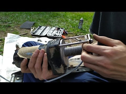 Ремонт штатной лебедки квадроцикла CF MOTO X6