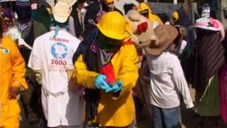 Carnaval del Pozo Pantepec Puebla con el Trio Los Paseadores de la Sierra por Video Tauro de Isidro