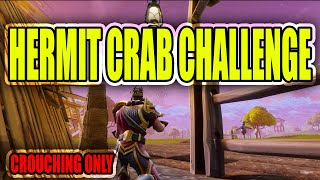 Hermit Crab Challenge-  Win a game CROUCHING ONLY