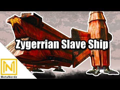 The Zygerrian Slave Ship  Auroreclass Freighter  YV865 Explained  Star Wars Ships