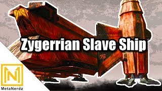 The Zygerrian Slave Ship - Aurore-class Freighter - YV-865 Explained - Star Wars Ships