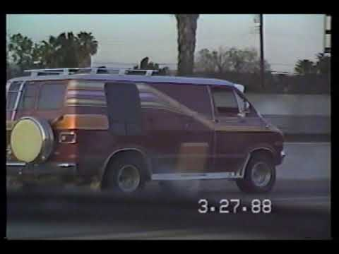 10 freeway Los Angeles in 1988!