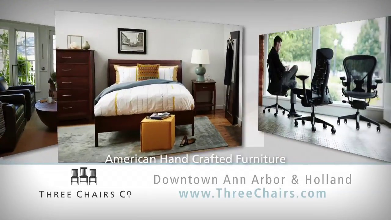 Three Chairs Co. In Ann Arbor And Holland, Michigan