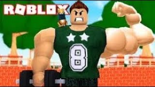 THE MUSCLE MAN OF ROBLOX playgerman