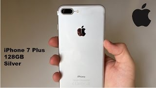 iPhone 7 Plus 128gb Silver | Unboxing