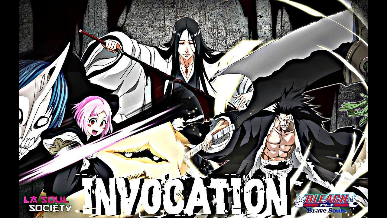 Bleach Brave Souls Invocations Step Up Kenpachi Bankai Retsu Yachiru Shikai