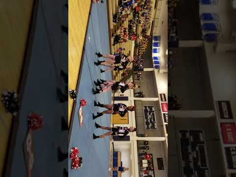 Indian Crest Middle School Cheer Comp 2nd place winners