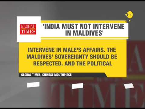 Global Times: India must not intervene in Maldives