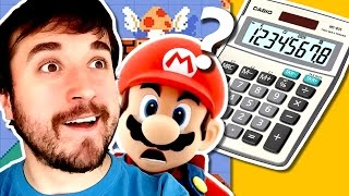 FIZERAM UMA CALCULADORA? - Super Mario Maker