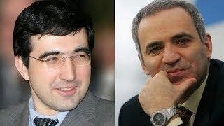 Крамник против Каспарова: позиционная жертва ферзя в принятом ферзевом гамбите