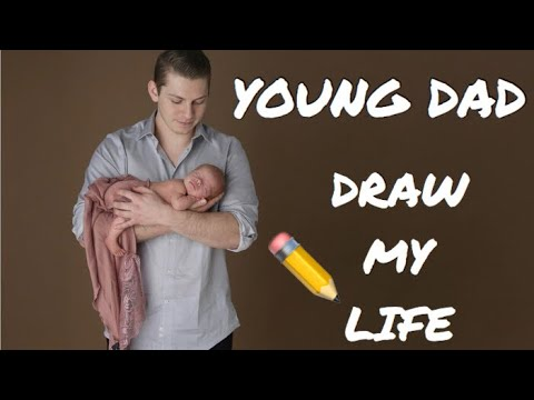 YOUNG DAD DRAW MY LIFE   HOMELESS, DRUGS, SUICIDAL, DEPRESSION, ABUSE