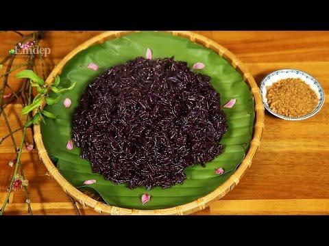 Học cách nấu xôi lá cẩm tím cho mâm cỗ ngày tết thêm sinh động