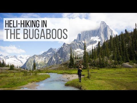 Heli-hiking in BC's Bugaboos with CMH
