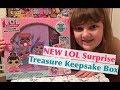 NEW LOL Surprise Treasure Keepsake Box – Make Bracelets, Decorate with L.O.L. Stickers & More!