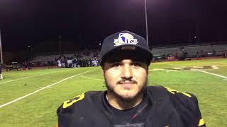 Gabe Herrera talks about Wilcox's state championship win