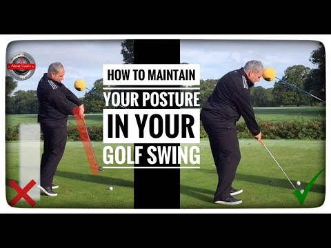 Maintain Your Posture In The Golf Swing