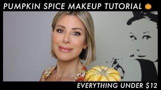 Pumpkin Spice Makeup Tutorial ($12 and under!) | Dominique Sachse