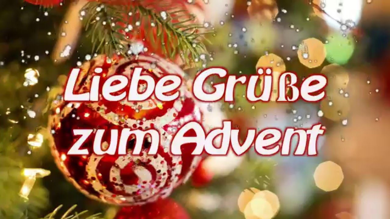 adventsgr e gru video liebe gr e zum advent youtube. Black Bedroom Furniture Sets. Home Design Ideas
