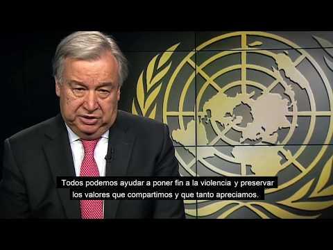 Secretary-General WHD message - Spanish