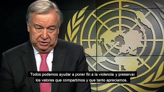 Secretary-General WHD message - Spanish