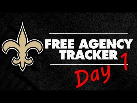 Saints Free Agency Recap Day 1 - Robinson, Davis, Brees, Savage