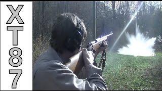 Winchester Model 70 - .458 Win Mag Plinking!