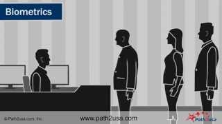 Biometric Interview Process for FingerPrinting and Photograph at Visa Application Center
