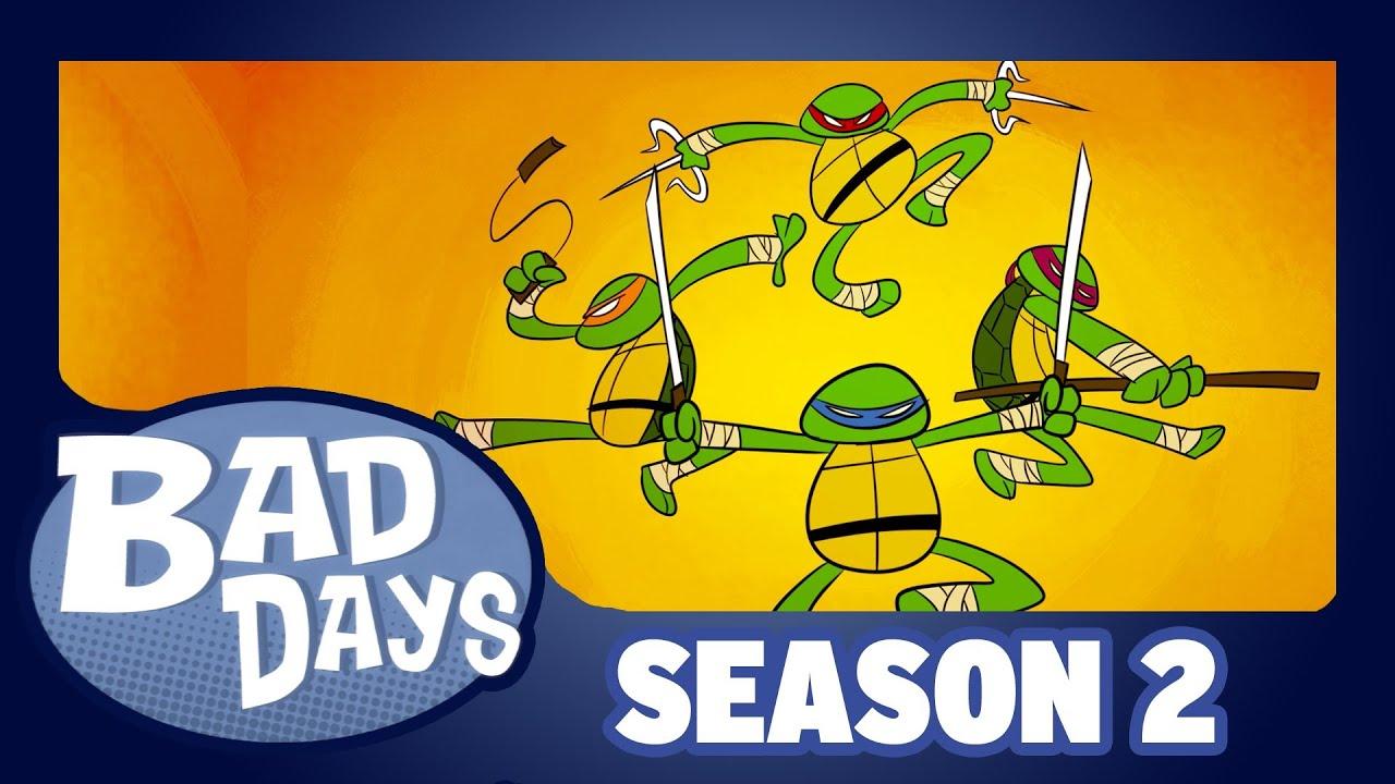 Teenage Mutant Ninja Turtles - Bad Days - Season 2 - Ep2