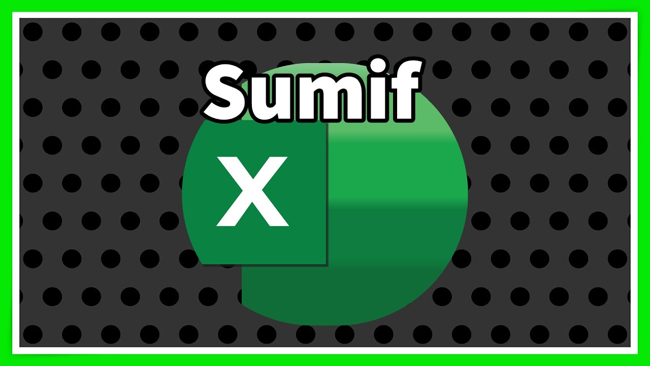 sumif function in excel pdf