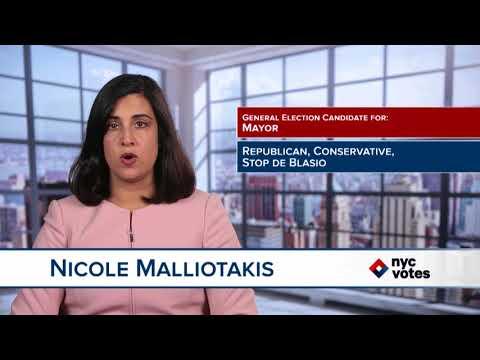 Nicole Malliotakis: Candidate for Mayor