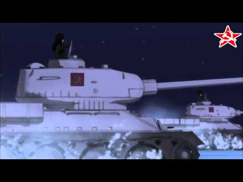 Girls und Panzer AMV Pravda Hell March (Red Alert 2)