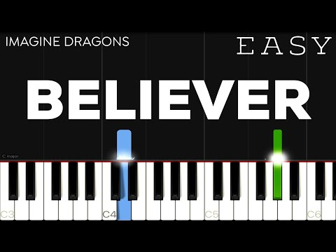 imagine-dragons---believer-|-easy-piano-tutorial