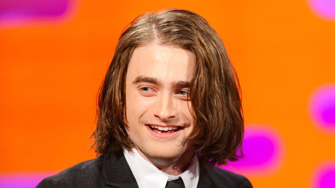 daniel radcliffe's long hair