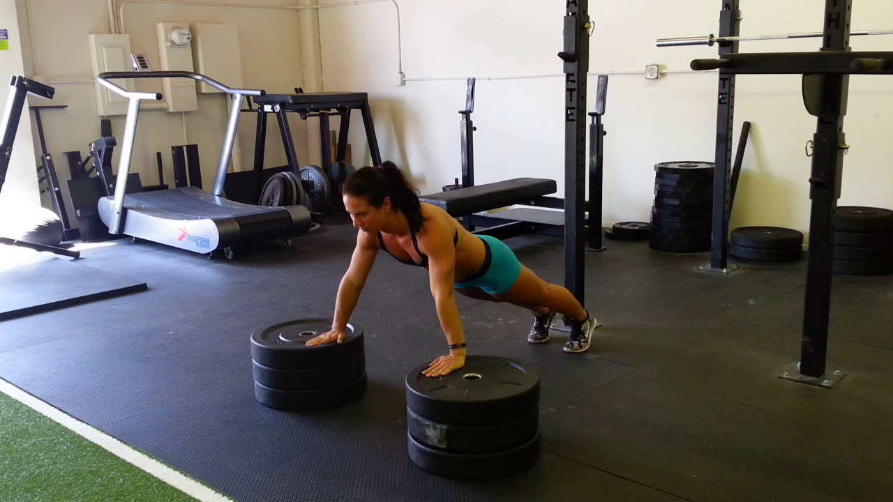 Modified Archer Push Up - YouTube