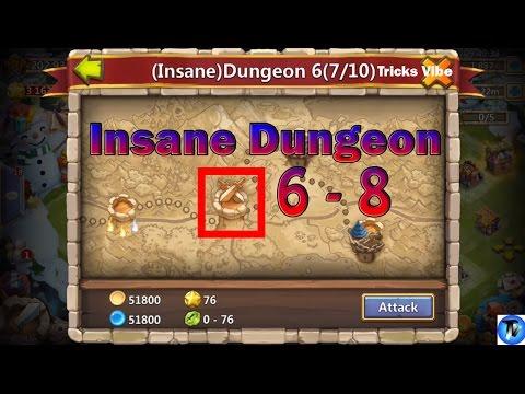 Castle Clash - Insane Dungeon 6-8