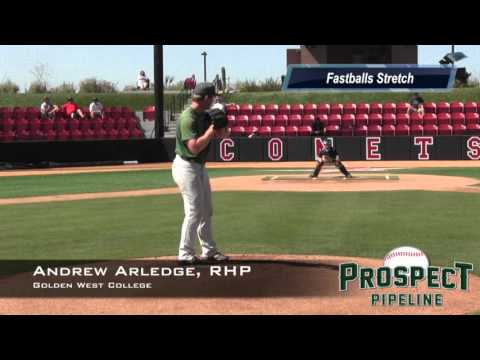 Andrew Arledge Prospect Video, RHP, Golden West College