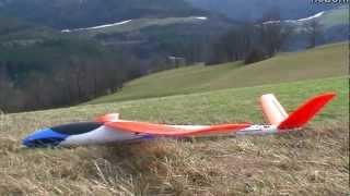 Multiplex Blizzard Hotliner   Fast glider in great scenery