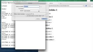 CSS-tyylitiedoston luominen ja linkittäminen