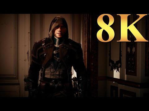 Assassin's Creed Unity ACU 8K Gameplay Titan X Pascal 4 Way SLI PC Gaming 4K | 5K | 8K And Beyond