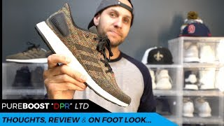 THE BEST PURE BOOST YET | ADIDAS PURE BOOST DPR LTD MULTICOLOR REVIEW
