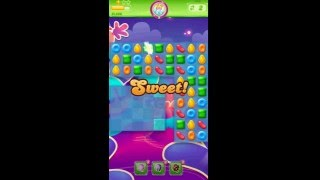 Candy Crush Jelly Saga - Level 166 (No boosters)