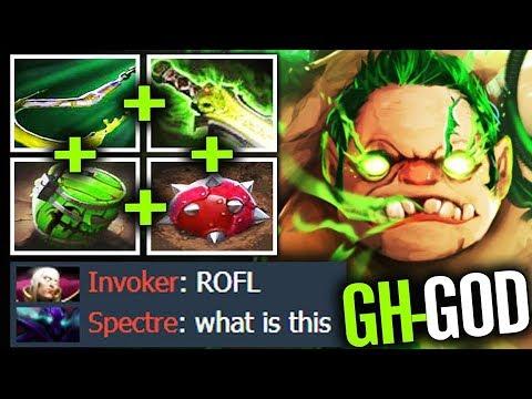 GH-God PUDGE 5k5 HP RaidBoss with Calculated Hook  Dota 2 gameplay thumbnail