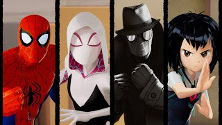 5 NEW Spider-Man Into the Spider-Verse CLIPS