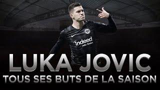 Bundesliga  Les 17 buts de Luka Jovic la nouvelle recrue du Real Madrid