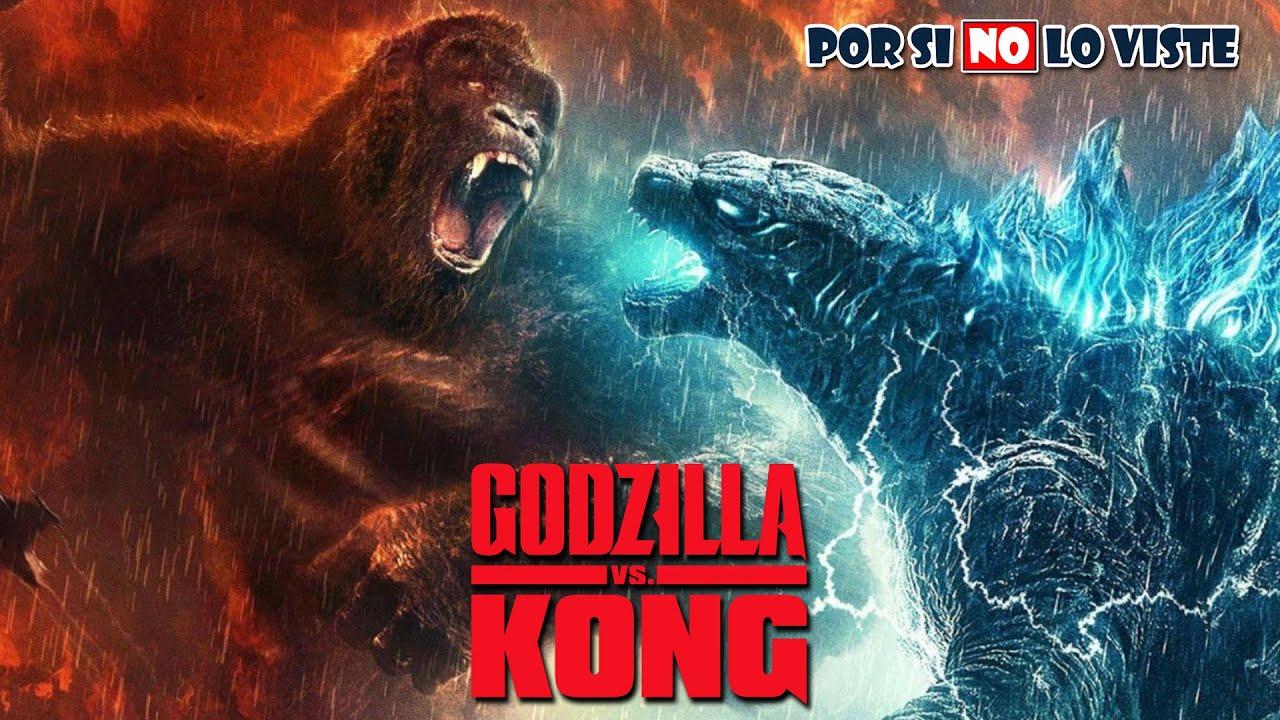 Por si no lo viste: Godzilla Vs Kong